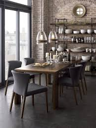 contemporary dining room sets industrial dining room table provisionsdining com