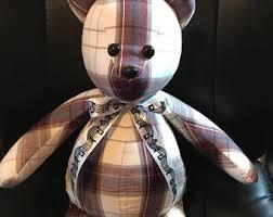 remembrance teddy bears handmade memory bears by littledaisybears on etsy