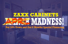 with 10 down financing kitchen cabinets in st paul and at zaxx cabinets through april put 10 down and get 6 months no interest financing and not only kitchen cabinets in st paul and minneapolis