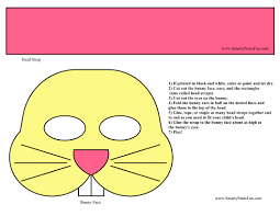 easter bunny cut out coloring pages