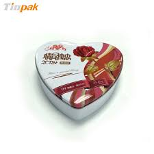 heart shaped candy boxes wholesale heart valentines tin box packaging wholesale heart shaped tin