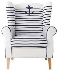 nautical chairs fancy nautical accent chair with additional small home decoration