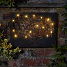 smart garden silhouette tree led wall 12 led on sale fast
