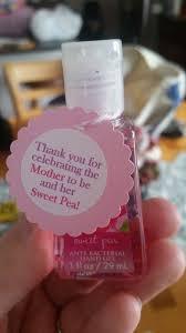 baby shower giveaways baby shower ideas favors ba girl ba shower favor bath works