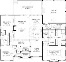 old wesley open home floor plan empty nester house plans