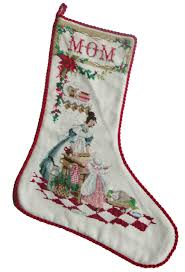 cross stitched christmas stockings u2013 q is for quilter