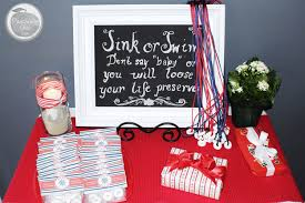 nautical baby shower decorations for home nice ideas nautical themed baby shower chic decorations for home