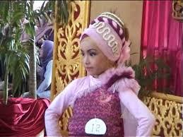 Sho Bayi fashion show busana muslim anak anak