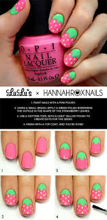 easy nail art characters 18 easy step by step summer nail art tutorials for beginners