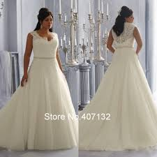 fancy see through beading lace organza white ivory a line