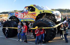 austin monster truck show just a car guy monster jam san diego 2013 in the