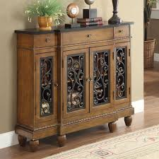 oak sofa tables vidi accent hallway console sofa table chest metal decor door