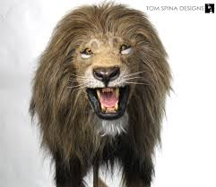 lion puppet custom realistic lion puppets for stage production tom spina