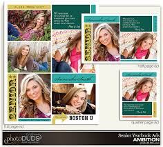 senior yearbook ad templates ambition yearbook ads