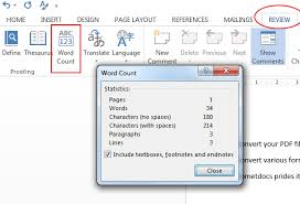 How To Count Number Of Words In Word Document How Many Words Can Fit On A Page In Microsoft Word