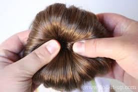 sock bun hair the fuzzy corner rise of the sock bun
