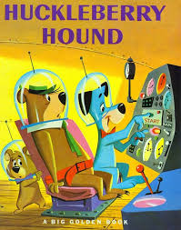the huckleberry hound show john k stuff norm mcgary golden book paintings and hb nerd time