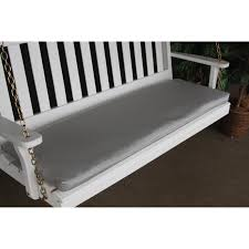 a u0026 l furniture sundown agora 68 x 17 in cushion for bench or