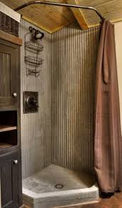 basement shower galvanized metal and small shower pan so it u0027ll