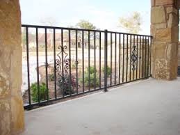 ornamental iron fence barrier fence