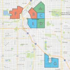 Denver Neighborhoods Map Ryan Tibbitts Entrepreneur Art Director Designer Gold Rush