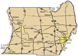 peninsula michigan map map southern lower peninsula nature trails parks sanctuaries
