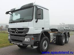 mercedes 6x6 truck mercedes actros 3354 as 6x6 the truck tractor from