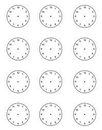 printable clock template without numbers excel time clock template tvsputnik tk