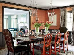 Colorful North Carolina House Lindsey Coral Harper Interior Design - Carolina dining room
