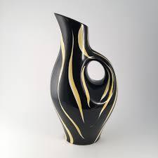 designer vase black vases by dror benshetrit international