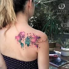 vibrant watercolor tattoos by koray karagozler watercolour
