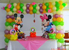 balloon delivery fort lauderdale mickey mouse theme party decorationand entertainment kids party in