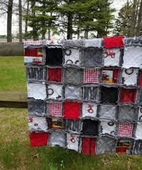 case ih inspired baby rag quilt case international harvester