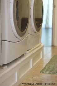Cheap Washer Pedestal How To Build A Washer And Dryer Pedestal My Frugal Adventures