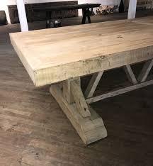 large trestle dining table large barn beam trestle dining table mecox gardens