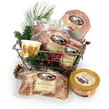 bacon gift basket christmas gift box 3 lewright meats