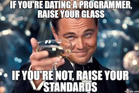 Funny Programming Memes - dating a programmer hacker noon