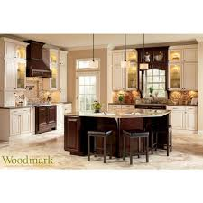 Sample Kitchen Cabinets by American Woodmark Kitchen Cabinets Kitchen With Subway Tile
