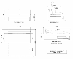 side elevation sofa sofa side elevation fisher u week s and sections mortise