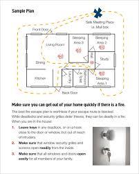 Evacuation Floor Plan Template Sample Nursing Home Evacuation Plan Home Plan