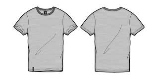 tshirt template the letter sample