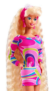 barbie collector totally hair 25th anniversary doll target