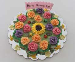 beautiful and colorful pull apart cake for mother u0027s day decorate