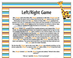 free printable bridal shower left right game left right game etsy