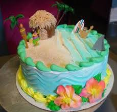 beach themed cakes for kids beach cake u2014 children u0027s birthday