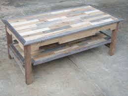 coffee tables dazzling reclaimed wood coffee table diy plans