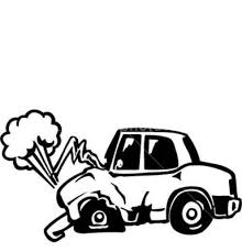 animated wrecked car cartoon car drawing at getdrawings com free for personal use