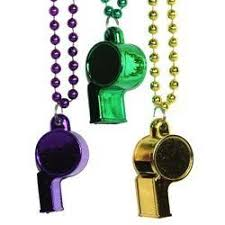 green mardi gras make some noise with your mardi gras whistle