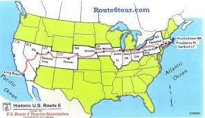 Route 66 Map by Setting Out Across America On Route 6 Huffpost
