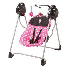 disney baby sway u0027n play swing minnie dot shop your way online